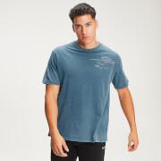 T-shirt à slogan échelonné MP Men's Rest Day - Bluejay - XXL