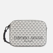 Emporio Armani Women's Frida Shoulder Bag - White/Black