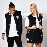 Marvel The Punisher Varsity Jacket - Black / White
