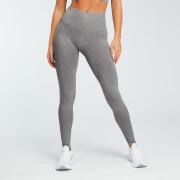 Legging sans couture délavé – Gris Foncé - XL