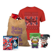 DC Comics Joker and Harley Officially Licensed Christmas Bundle