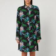 KENZO Women's Sea Lily Shirt Dress - Black - UK 6/EU 36