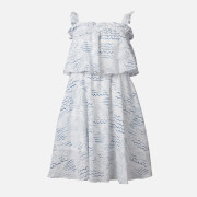 KENZO Women's Strapless Ruffles Dress - Duck Blue - UK 6/EU 36