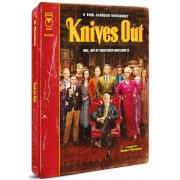 Knives Out - 4K Ultra HD Zavvi Exclusive Steelbook (Includes 2D Blu-ray)