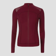 Chaqueta Power Mesh - Oxblood