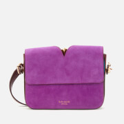 Kate Spade New York Women's Mystery Suede Small Shoulder Bag - Berry Blitz Multi