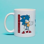 Sonic Japanese Mug- White
