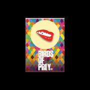 Harley Quinn Birds of Prey Collectable Pin Badge - Lips