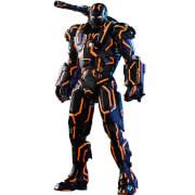 Figurine Articulée Neon Tech War Machine Marvel Exclusive 32cm - Hot Toys