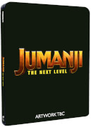 Steelbook Jumanji: next level - 4K Ultra HD (Blu-ray 2D Inclus)
