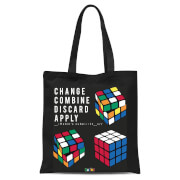 Change Combine Discard Apply Tote Bag Black