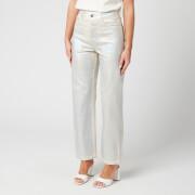 Helmut Lang Women's Factory Jeans - Silver/Ecru - W25