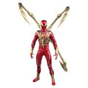 Figurine Articulée Spider-Man (à l'échelle 1/6) (Iron Spider Armor) Video Game Masterpiece 30cm - Hot Toys