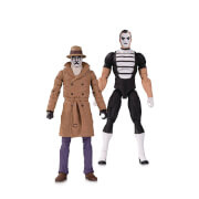 DC Collectibles DC Comics Watchmen Doomsday Clock - Rorschach & Mime Action Figure 2-Pack