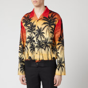 Wooyoungmi Men's Palm Print Shirt - Red - S