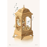 Disney's Scrooge Music Box by George Caltsoudas Limited Edition Giclee Print