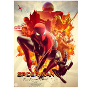 Marvel Spider-Man: Far From Home Lithograph Print by Carlos Dattoli
