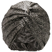 Slip Pure Silk Turban - Leopard