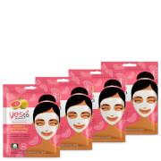 Купить Yes to Grapefruit Vitamin C Glow Boosting Single Use Mask (Pack of 4)