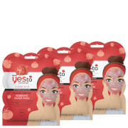 Купить Yes to Tomatoes Blemish Fighting Bubbling Single Use Mask (Pack of 3)