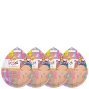 Купить Yes to Grapefruit Vitamin C Glow-Boosting Unicorn Mud Single Use Mask (Pack of 4)