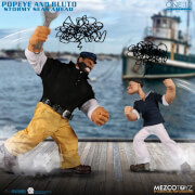 Mezco One: 12 Collective Popeye and Bluto: Stormy Seas Ahead Deluxe Action Figures Box Set
