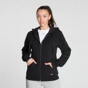 MP Damen Essentials Zip Through Hoodie - Schwarz