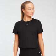 MP Women's Essentials Crop T-Shirt - Black