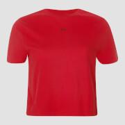 Женская укороченная футболка MP Essentials, ярко-красная - S фото