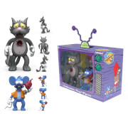 Kidrobot The Simpsons Itchy and Scratchy Medium Vinyl Figures