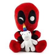 Kidrobot Marvel Deadpool with Unicorn HugMe 16 Inch Vibrating Plush
