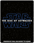 Exclusivité zavvi steelbook star wars lascension de skywalker 3d blu ray 2d inclus
