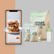 Das Vegane Bundle + kostenloses Trainings- & Ernährungsratgeber - Orange - Lemon Tea - Strawberry