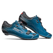 Sidi Sixty Road Shoes - Black/Petrol - EU 44
