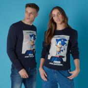 Sega Sonic the Hedgehog Unisex Sweatshirt - Navy