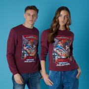 Sega Streets of Rage Unisex Sweatshirt - Burgundy