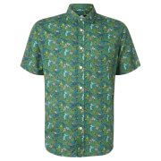 Limited Edition Jurassic Park Raptor Floral Printed Shirt - Zavvi Exclusive