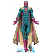 The Avengers Vision Android Oversized Cardboard Cut Out