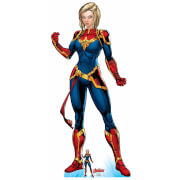 The Avengers Captain Marvel Oversized Cardboard Cut Out