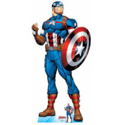 The Avengers Captain America Oversized Cardboard Cut Out