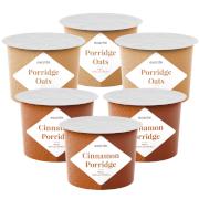 Haferbrei - Packung mit 6 Einheiten