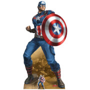 Star Cutouts The Avengers Captain America Oversized Cardboard Cut Out
