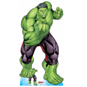 The Avengers Hulk Crouching Oversized Cardboard Cut Out