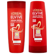 Купить L'Oréal Paris Elvive Colour Protect Shampoo and Conditioner Set - Exclusive
