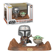 Figurine Pop! TV Moment The Mandalorian Avec L'Enfant - Star Wars: The Mandalorian