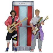 NECA Bill and Ted's Excellent Adventure Clothed Action Figure 2 Pack