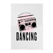 Kitchens Are For Dancing Cotton Tea Towel