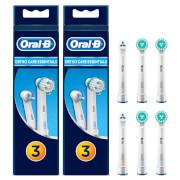 Ortho Care Essentials Opzetborstels, Verpakking Van 6