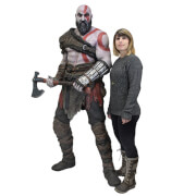 NECA God of War (2018) - Life-Size Foam Replica - Kratos