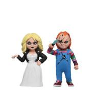 """NECA Toony Terrors - 6"""" Action Figure - Chucky & Tiffany 2 Pack"""